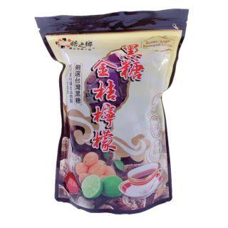 糖之鄉 - 金桔檸檬黑糖磚  (35g x14)