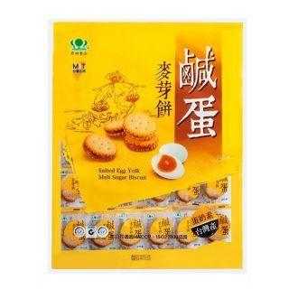 昇田食品 - 麥芽餅 (鹹蛋) 台灣版 (250g)