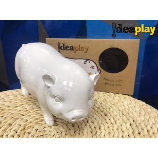 Ideaplay - 白板漆動物公仔 小豬芝芝 (白)