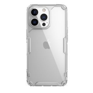 "Nillkin - iPhone 13 Pro Max 6.7"" 四角氣囊防滑TPU 亞克力背板防摔手機保護殼本色Pro系列 (透明)"