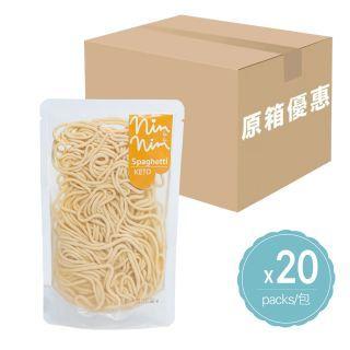Nimnim - (原箱優惠) 低碳雞蛋意粉 (100g x 20包)