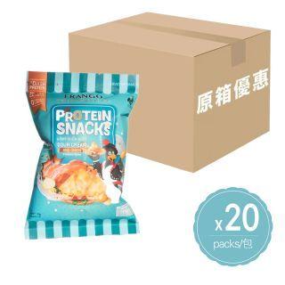 Frango - (原箱優惠) 高蛋白零食 三角脆脆粒 (酸忌廉洋蔥味) (22g x 20包)