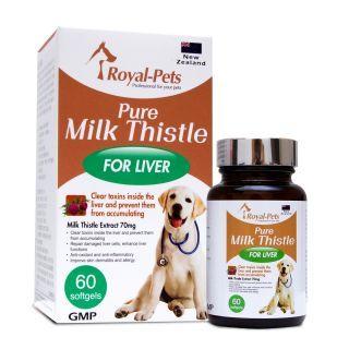 Royal-Pets - 純正奶薊素 (60粒軟膠囊)