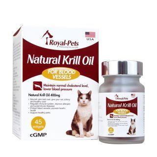 Royal-Pets - 天然磷蝦油丸 (45粒軟膠囊)