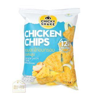 Chicky Shake - 低卡零脂肪雞胸肉脆片 (芝士洋蔥味) (14g)
