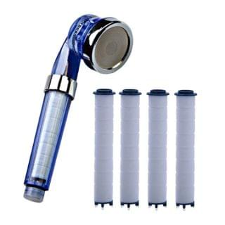 Dr. Shower - 除氯除銹除雜質三段式花灑頭+4條濾芯套裝
